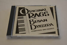 Brian Dykstra: Original Rags composer and pianist Like New