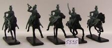 Unpainted Plastic 1:32 German 2-5 Toy Soldiers