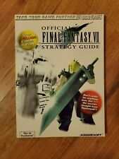 Final Fantasy VII 7 Official Strategy Guide Squaresoft Brady Games PSX PS1