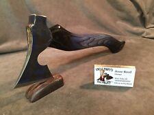 Vintage viking bearded axe hatchet hammer POLISHED custom JESSE REED handle