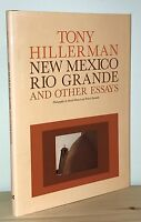 Tony Hillerman - New Mexico Rio Grande - 1st 1st - Author Dance Hall of the Dead