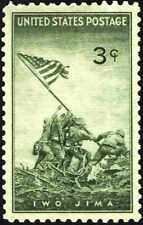 Iwo Jima Marines #929 Mint NH 1945 US World War II Era Commemorative