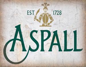 ASPALL CIDER VINTAGE ALCOHOL METAL TIN SIGN POSTER WALL PLAQUE