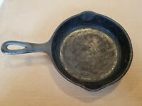 Wagner Ware Sidney Cast Iron Skillet 1053 J - used condition - approx 6.5in. dia