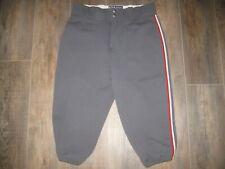 Victory Men's Team Baseball Pants 34, 19 Softball Dark Gray Nylon Uniform