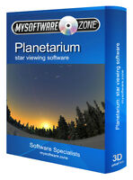 Pro Astronomy Software Star Maps Sky Charts Planetarium New CD-ROM