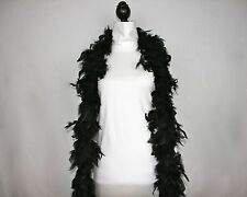 BLACK Feather Boas Wholesale Chandelle 6 Feet 60 grams Best Price on eBay