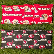 ALL WEATHER Resin Cornhole Bean Bags ACA Regulation Bags San Francisco SF 49ers