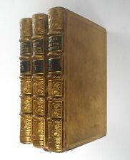 La Divina Commedia Di Dante Alighieri Buttura 1829 3 Vol Full Leather Binding
