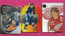 PAUL COFFEY + KRIS LETANG + STEVE YZERMAN  NHL INSERT CARD   (INV# C4091)