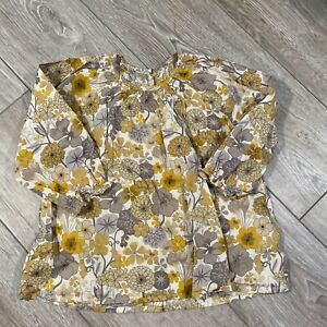 Poppy Rose Girls Floral Blouse Top 86 (3-5)