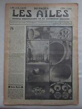 AILES 1935 730 SOUFFLERIE TAYLOR CUB DIESEL MAGNETO RUBAN BLEU NORMANDIE FARMAN