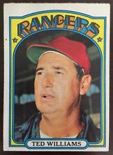 1972 Topps Ted Williams #510