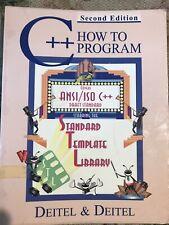 How To Program: C++ 2nd Edition By Deitel &Deitel