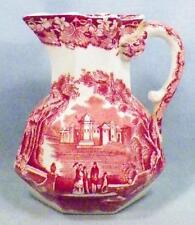 Masons Ironstone Vista Hydra Jug Creamer Pink Transferware Vintage Nice