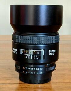 Nikon Nikkor 85mm f1.8 AF D Lens