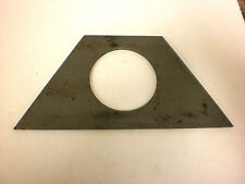 "2"" Weld on Support Plate For Trailer Jack"