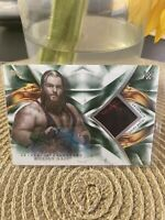 Killian Dain 2019 Topps Undisputed Wrestling Green Shirt Relic Auto SP 35/50 WWE