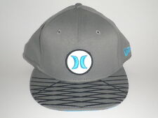 Hurley New Era 9Forty OPEN FUSE Hat Blue Grey OSFA ($32) Snapback Nike Dri-Fit