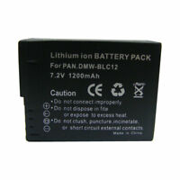 DMW-BLC12E DMW-BLC12 Battery For  Panasonic Lumix DMC-FZ2500 Lumix DMC-FZ2000