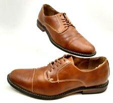 Mens US 11 M Dexter COMFORT MEMORY FOAM Brown Cap Toe Derby OXFORD Dress Shoes