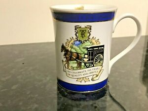 RINGTONS TEA WARE TEAWARE CENTENARY 2007 100 YEARS MUG BEAKER