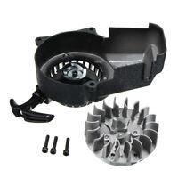 Pull Start Pullstarter & Flywheel 2 Stroke 47cc 49cc Mini Moto Scooter Quad ATV