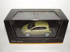 Opel Corsa D green tea Modellauto 1:43