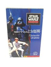 STAR WARS Classic Collection Series Statuette LUKE SKYWALKER Lighted Base
