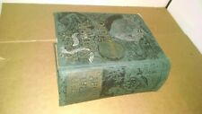 Woods Natural History - ANTIQUE Book, RARE First American Edition HC Engraved