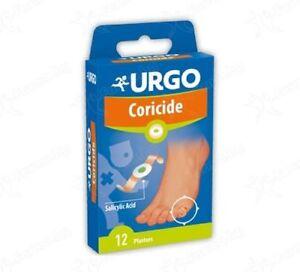 Urgo Coricide / treatment for corns, calluses and eyelets partridge * 12 / 2 box