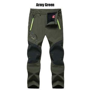 Men Cargo Pants Waterproof Skiing Thicken Snowboard Snow Trousers Pants Winter