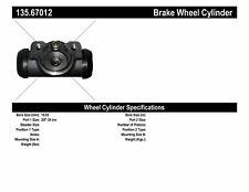 C-TEK Standard Wheel Cylinder fits 1984-1995 Plymouth Voyager Grand Voyager  C-T