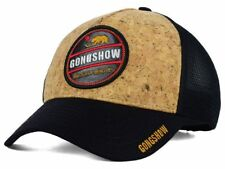 Gongshow Hockey Northern Dangles Meshback Black & Cork Adjustable Hockey Cap Hat