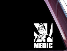 MEDIC - Team Fortress 2 - TF2 - DIE CUT Vinyl Decal / Sticker NOT PRINTED