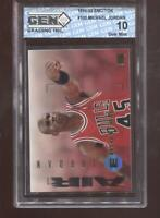 Michael Jordan 1994-95 Skybox Emotion #100 Bulls HOF GEM MINT 10