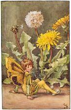 The Dandelion Fairy: Cicely Mary Barker : circa 1918 : Art Print