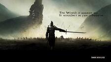 """045 Dark Souls 3 - III Hot Video Game 25""""x14"""" Poster"""
