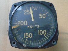 1 EA USED KARNISH INST. PITOT AIRSPEED INDICATOR - VINTAGE AIRCRAFT P/N: AC130-8