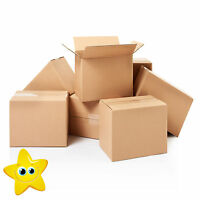 "25 x 6"" CUBE SINGLE WALL CARDBOARD MAILING BOXES 6X6X6"""