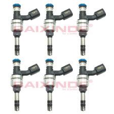 Set of 6 Fuel Injectors 12629927 FJ1059 For 2010-2011 CTS SRX Equinox Terrain