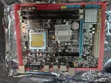 SCHEDA MADRE LGA 775 DDR2 INTEL DESKTOP COMPUTER CPU QUAD CORE DUAL