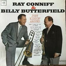 Ray Conniff Billy Butterfield Just Kiddin' Shrink Record Album 33 rpm cat rescue