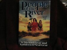 People of the River Book by W. Michael Gear &  Kathleen O'Neal Gear 1992 HC &DJ
