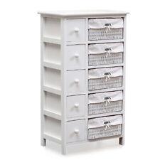Levede Bedside Tables Chest of 5 Drawers Wood Storage Cabinet Bedroom Furniture