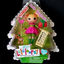 Lalaloopsy Mini Holly Sleighbells Dolls Christmas Holiday NEW Target Exclusive