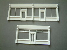 """Shop Fronts and Pilasters 3 D printed for Scratch Building """"00"""""""
