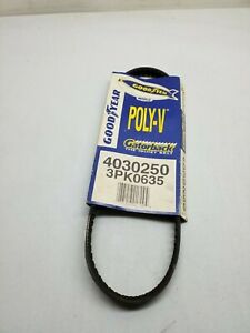 Goodyear 4030350 Serpentine Belt Equivalent 350K3 9 Pack 3 Rib Poly-V Belt