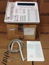 AVAYA 8434DX 107707994 8434D04A WHITE PHONE W/ HANDSET, SELLER REFURBISHED