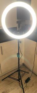 Neewer Ring Light Kit [Upgraded Version-1.8cm Ultra Slim]-18 inches 3200-5600K